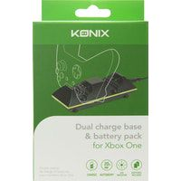 konix 3328170225885 cargador de dispositivo movil interior negro