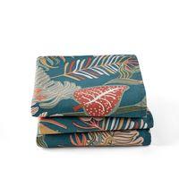 lote de 3 servilletas estampadas tropic