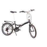 talamex bicicleta plegable mk iv one size silver  black