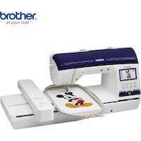 mini led maquina de coser electrica multifuncional brother nq3500d 290 puntos