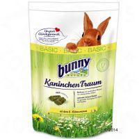 comida bunny kaninchen traum basic para conejos - 2 x 4 kg - pack ahorro