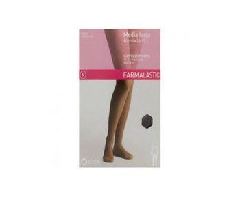 Farmalastic media larga blonda (A-F) comp. normalT-pequeña capuchino 1ud