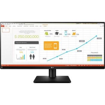 LG 34UB67-B 34 pulgadas pulgadas AH-IPS Negro pantalla para PC LED