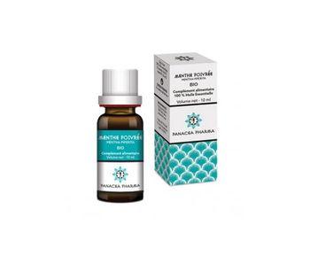 Aceite esencial orgánico de menta de Panacea Pharma