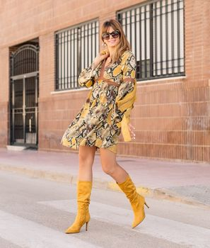 Vestido Macer - Amarillo