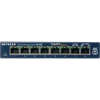 Netgear ProSafe 8-Port Gigabit Desktop Switch Conm
