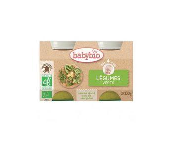 Babybio Pdt/Green Bean 2X130g
