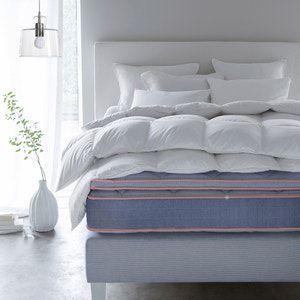 Cabecero de cama enfundable con altura 95 cm, Stadia